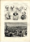 1871 THE GRAPHIC Illustrated Newspaper CHICAGO FIRE Kerfoot POST OFFICE LONDON Stag Hounds VICTORIAN (4010)